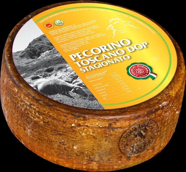 PECORINO TOSCANO AFFINE D.O.P. 3 kg/env.