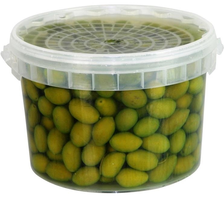 OLIVES VERTES PUGLIA EN SAUMURE (Bella di Cerignola) 2.5 kg