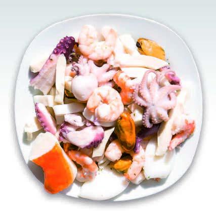 FRUITS DE MER AU NATUREL (en saumure) 4 kg (Alice)