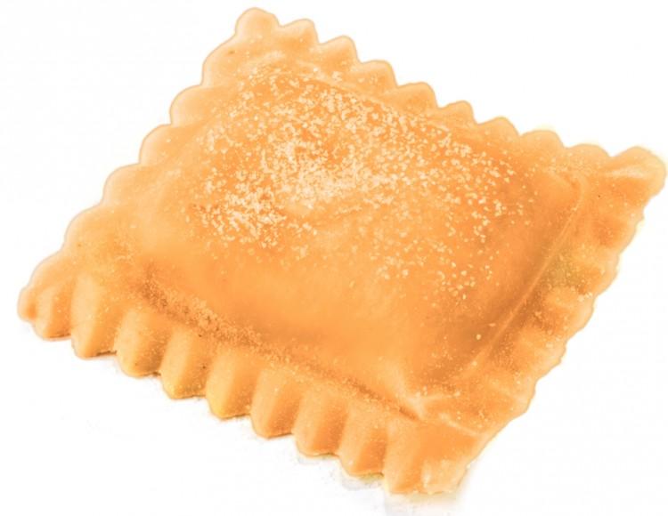 RETTANGOLO SAUMON, ROBIOLA et POIVRE ROSE (Pâte orange) 1 kg