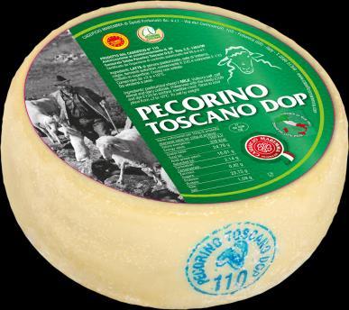 PECORINO TOSCANO JAUNE D.O.P. 5 kg/env.
