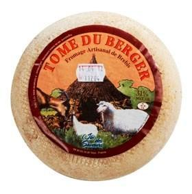 TOME DU BERGER (Tome de Sardaigne) (Brebis et Chèvre) 1.2 kg/env.