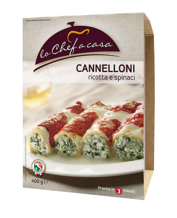 CANNELLONI RICOTTA ÉPINARDS 400 gr