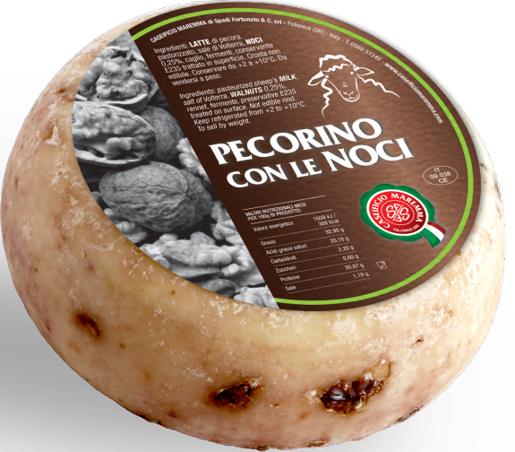 PECORINO TOSCANO AUX NOIX