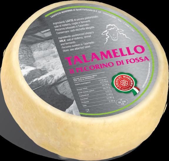 PECORINO TOSCANO TALAMELLO (affiné en fosse) 1 kg/env.
