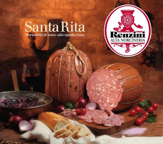 """MORTADELLA DE PORC """"SANTA RITA"""" (à l'oignon rouge) 8.5 kg/env."""