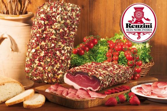 LA ROSA DI NORCIA (Épaule de porc affinée) 2.5 kg/env.
