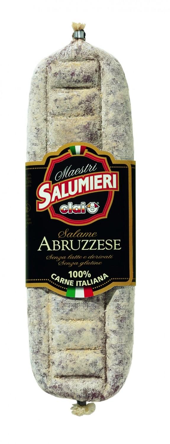 SAUCISSON ABRUZZESE 400 gr (Clai)