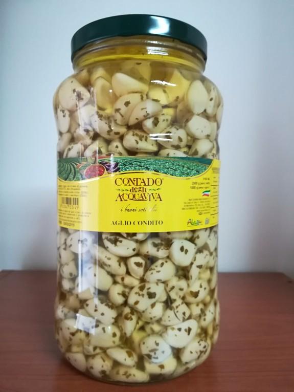 AIL CONFIT AUX HERBES Bocal 3.1 Ml Agra Contado