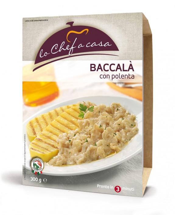 BACCALA A LA VICENTINA (Morue) 350 gr