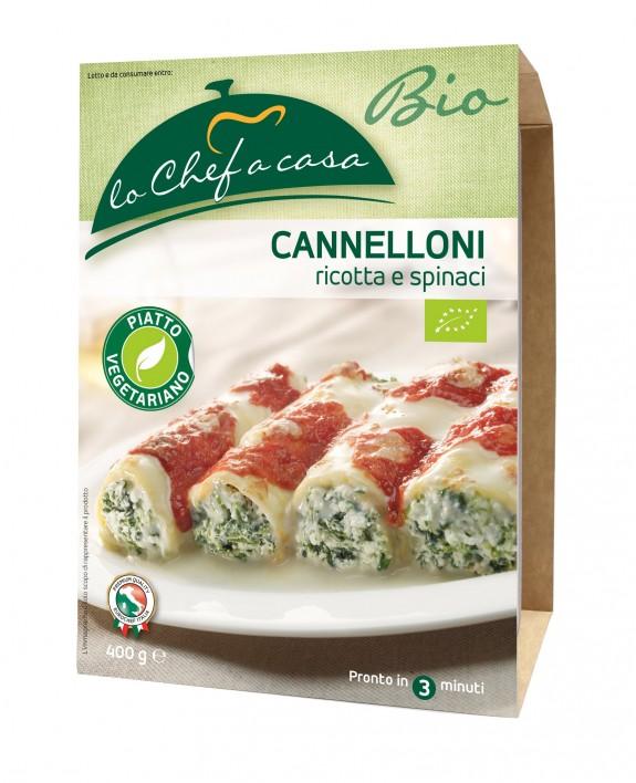 CANNELLONI RICOTTA ÉPINARDS * BIO 400 GR