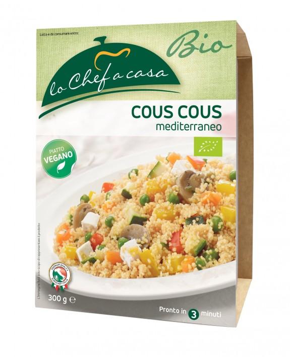 COUSCOUS MÉDITERRANÉENNE * BIO 300 GR