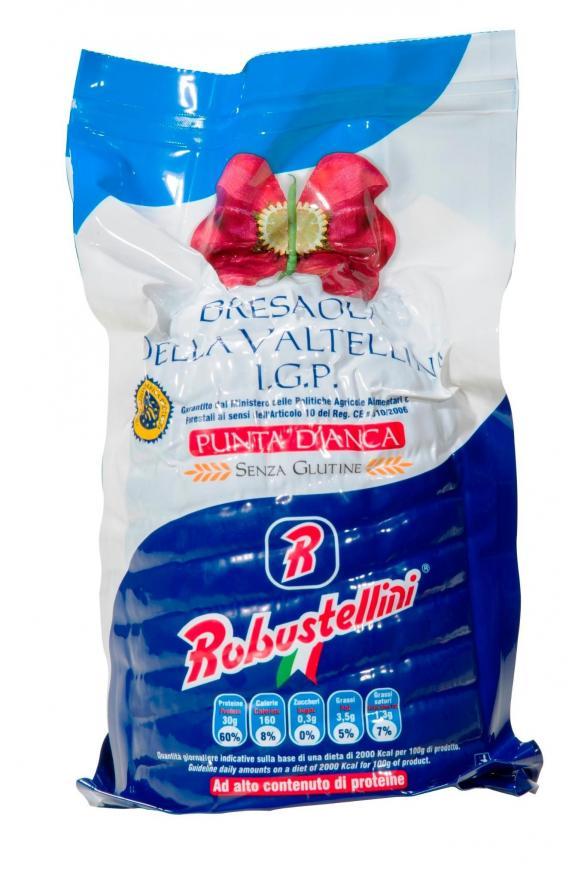 BRESAOLA VALTELLINA IGP 1/2 1.7 kg/env. Etiq. Blue