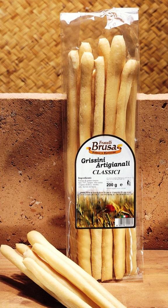 GRESSINS ARTISANAUX CLASSIQUES 200 gr Brusa
