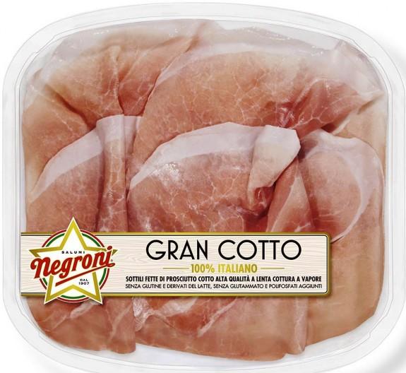 "JAMBON CUIT ""GRAN COTTO"" 110 gr Gamme Essenza"