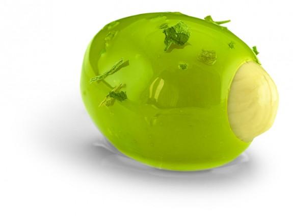 OLIVES VERTES FARCIES AUX AMANDES 1.9 kg