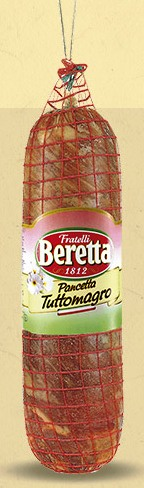 PANCETTA MAGRETTA S/COUENNE 4 kg/env. Beretta