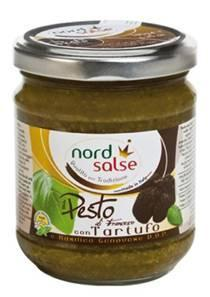 PESTO AUX TRUFFES 180 gr Nord Salse