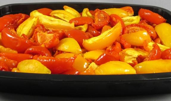 TOMATES CONFITES QUARTIERS JAUNES ET ROUGES 2 kg 3C Alimentari
