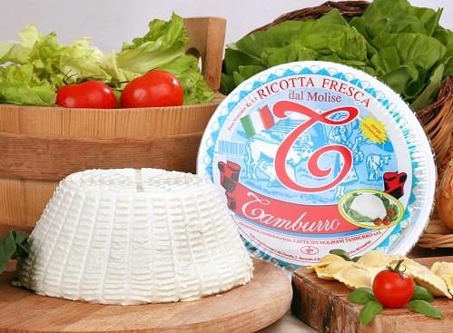 RICOTTA DE VACHE 1.5 kg Tamburro