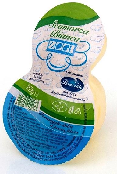 SCAMORZA DE VACHE BLANCHE 250 gr Zogi
