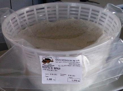 RICOTTA DE LAIT DE BUFFLONNE 1.5 kg Alento
