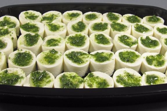 Tomini Piemontesi a l'Huile Aux Herbes(fromage de vache)
