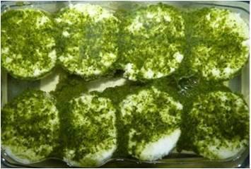 Tomini Piemontesi a l'Huile Aux Herbes (fromage de vache) 200 gr